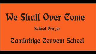 we shall over come| school prayer | new English song 2015