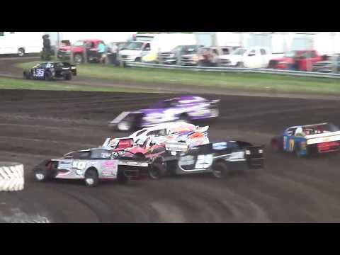 IMCA Sport Mod Heat 3 Benton County Speedway 8/11/19