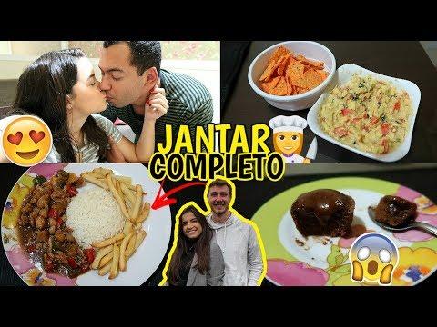JANTAR COMPLETO PARA DOIS (ft. Vanessa Lino) ♥ - Bruna Paula #BRUTODODIA27