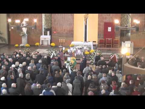 Uroczystości pogrzebowe S.P. Mariana Dzięcioła Burmistrza Łochowa