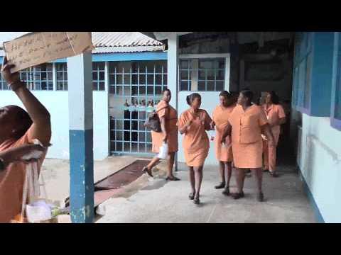Domestic Workers Protest @ San Fernando Hospital July 21, 2014  Trinidad & Tobago