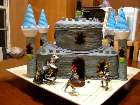 Fondant Castle Cake Youtube