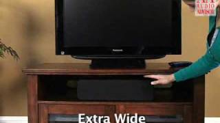 Audio Advisor Review - Classic Wood 325 Audio Video Cabinet