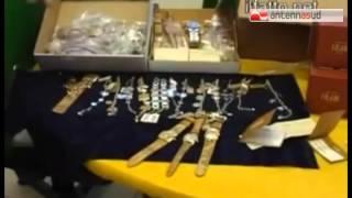 TG 27.03.15 Rolex contraffatti venduti per oltre un milione di euro, due arresti per truffa