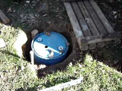 Rain Water Recycle Collection System Idea Hand Pump Youtube