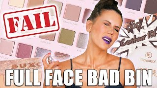 Download FULL FACE of PRODUCTS I HATE | The BAD Bin Mp3 and Videos