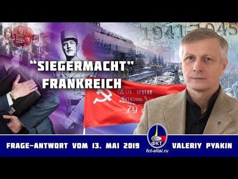 Frankreichs Rolle in den Weltkriegen (Valeriy Pyakin 13.5.2019)