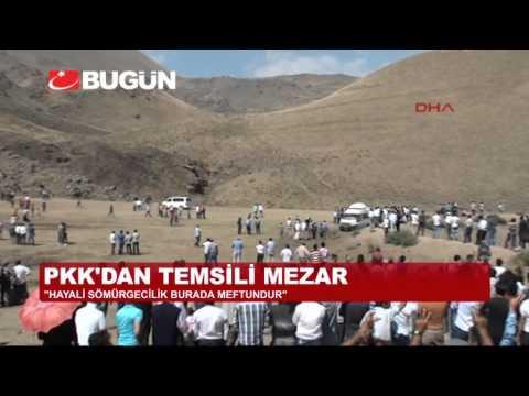 PKK'DAN AĞRI'DA SİLAHLI GÖVDE GÖSTERİSİ