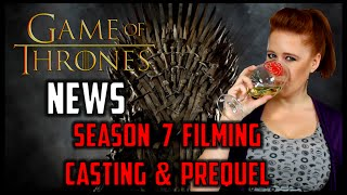 Game of Thrones News: Actor Injury, Filming, Casting, Prequel Talk & More!