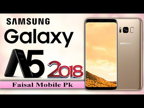 Samsung Galaxy A5 2018 First Look, Phone Specifications, Price, Release Date and Features.