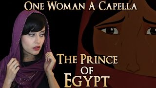 "One Woman A Cappella Choir - Prince of Egypt | ""Deliver Us"" by Bri Ray"