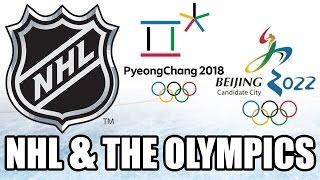 The NHL & The Future Olympic Games (South Korea 2018 + China 2022) - Canucks & Kings @ China