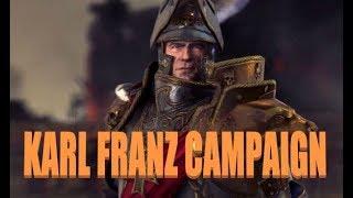 Warhammer 2 Livestream - Karl Franz