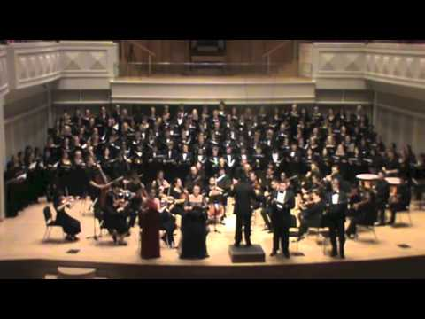 Beethoven: Mass in C performed by U Chorale