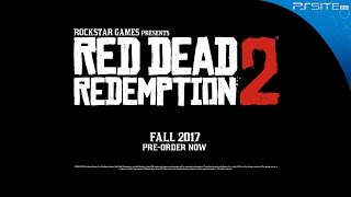 PS Site.com: Red Dead Redemption 2 | Reveal Trailer