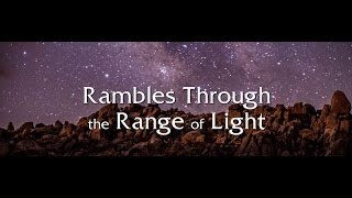 """Rambles Through the Range of Light"" on the Loaded Overland"