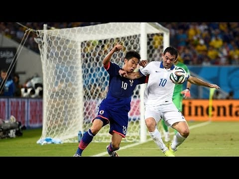 Japan 0 - 0 Greece : World Cup 2014