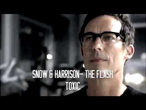 Snow and Harrison The Flash  Toxic