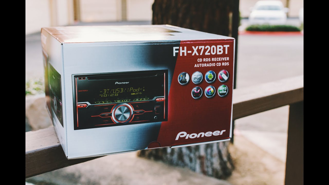 Pioneer Fh X720bt Be Nungsanleitung Deutsch Battery Wiring Diagrams Solar Car Stereo Review Youtube