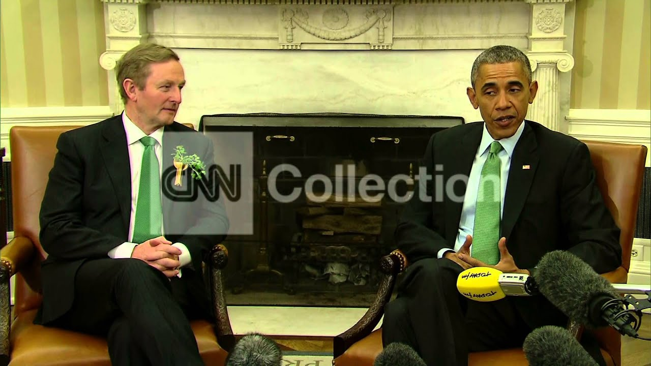 OBAMA-HOPE FOR LUCK OF IRISH-REPUBLICAN BUDGET