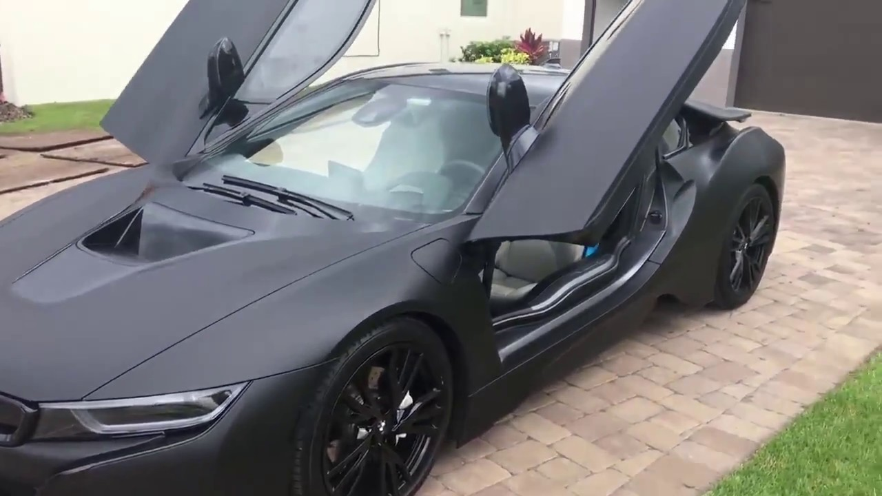 Bmw I8 Full Black Youtube