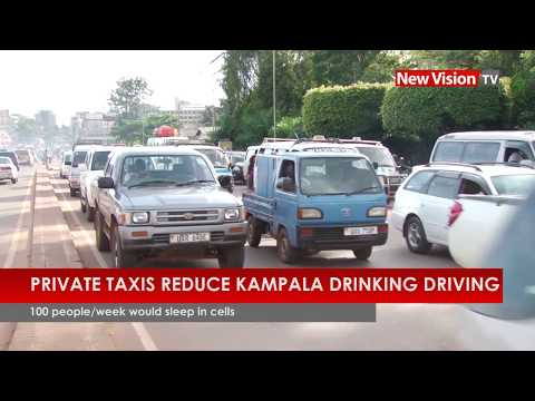Private taxis reduce Kampala drink-driving