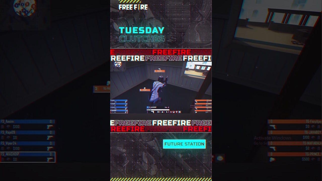 Tuesday Clutches Ft. Future Station   Free Fire