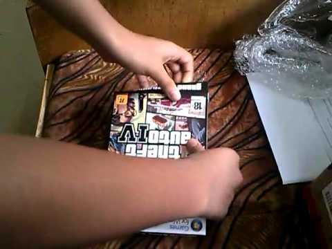gta 4 dvd unboxing   ordered from flipkart for 374/- rs | Indian consumer