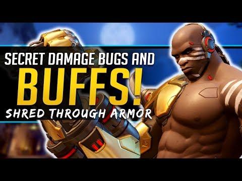 Overwatch Secret Damage Buffs - New Doomfist Interaction thumbnail