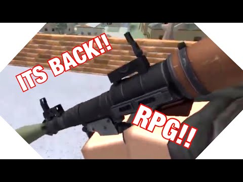 The Rpg Is Back Unit 1968 Roblox Gameplay Youtube