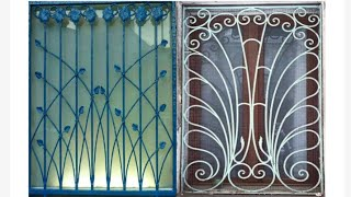 Decorative window grill designs for modern homes