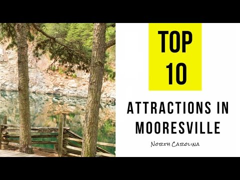 Top 10. Best Tourist Attractions in Mooresville, North Carolina