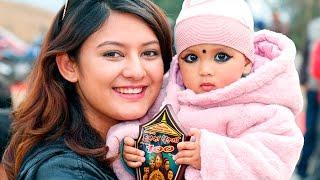 बर्षा राउत र दीपकराज गिरीकी छोरी यस्ती भइन्/Deepak &Barsa Raut Daughter