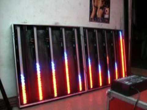 Pantalla de barras de leds con case youtube for Barra de luz led