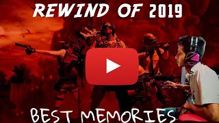 REWIND 2k19❤️-ROCKING RAMBO | 2020 ROAD TO 1k BEGINSS