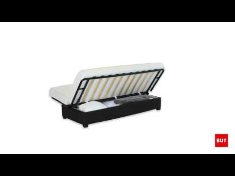 Banquette Lit Clic Clac Simmons Ressorts 130cm But Youtube