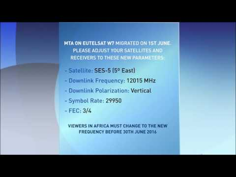 Satellite Frequency details - Africa Viewers