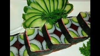 Como fazer sushi mosaic hossomaki mosaic