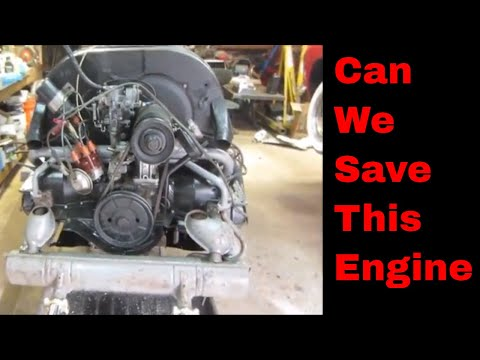 Will It Still Run? Rotten vw engine repaired.
