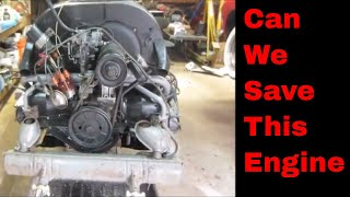 Will It Still Run? Rotten Vw Engine Repaired.