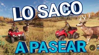 THE HUNTER CALL OF THE WILD   Atv saber 4x4 DLC   Gameplay Español