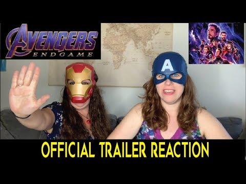 Marvel's Avengers Endgame Official Trailer 2 REACTION!