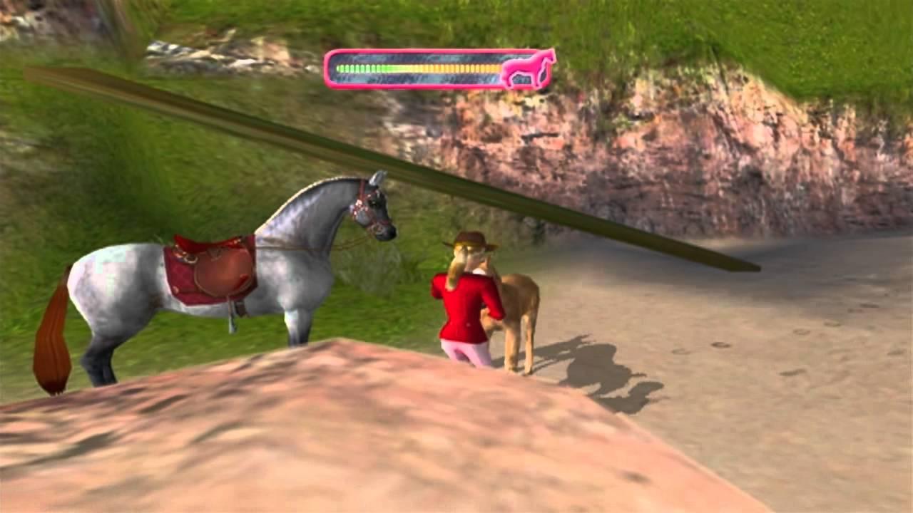 Barbie Horse Adventures: Wild Horse Rescue (2003) (PS2 ...