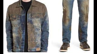 কাঁদা মাখা জিন্স এর প্যান্ট এর দাম ৪৭ হাজার টাকা! কারন জানলে অবাক হবেন | Muddy jeans