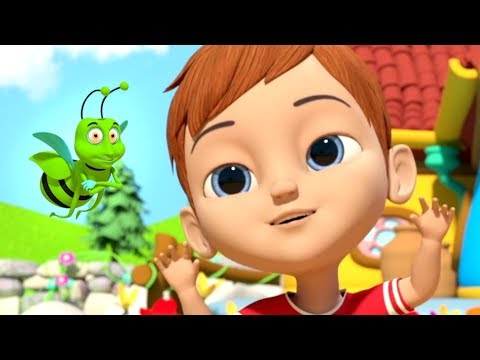 Shoo Fly Song & More Cartoon Nursery Rhymes For Kids By Little Treehouse