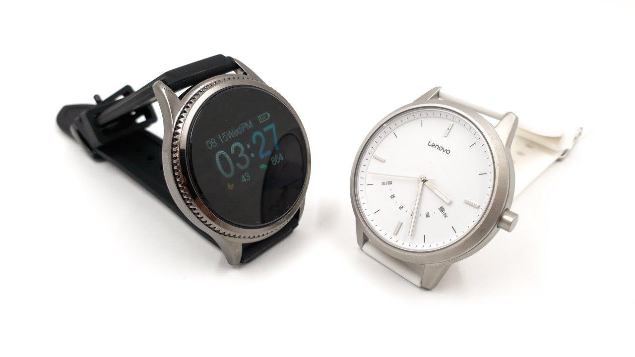 Chytré hodinky - Lenovo Watch 9 a Alfawise NB - 209 - YouTube cea79e8f513