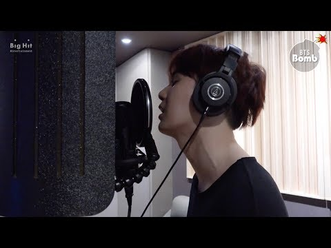 [BANGTAN BOMB] SUGA's '신청곡 (Song Request)' recording behind - BTS (방탄소년단)