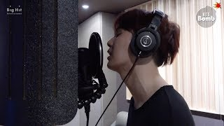 Download lagu [BANGTAN BOMB] SUGA's '신청곡 (Song Request)' recording behind - BTS (방탄소년단)