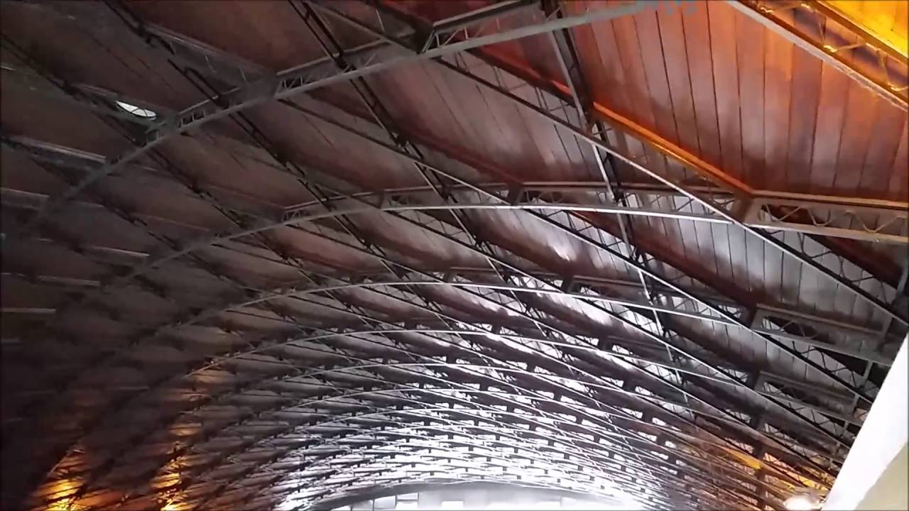 Lamella Roof Barrel Vault In Tucum 225 N City Youtube