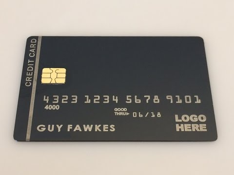 R-EMV Bypass Procedure - Custom Made Metal Black Cards